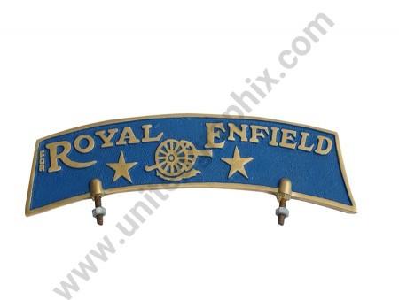 Royal Enfield name plate